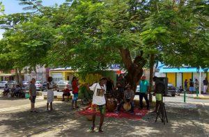 taniec i śpiew na Karaibach