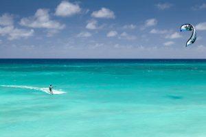 kitesurfing Karaiby