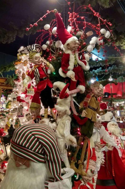 Boże Narodzenie W Usa świąteczne Dekoracje Karaiby Oczami
